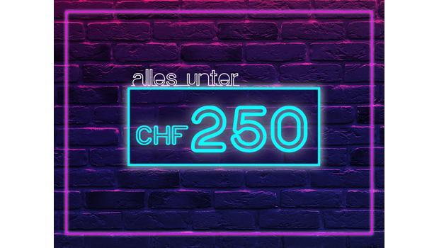Interior-Updates unter CHF 250