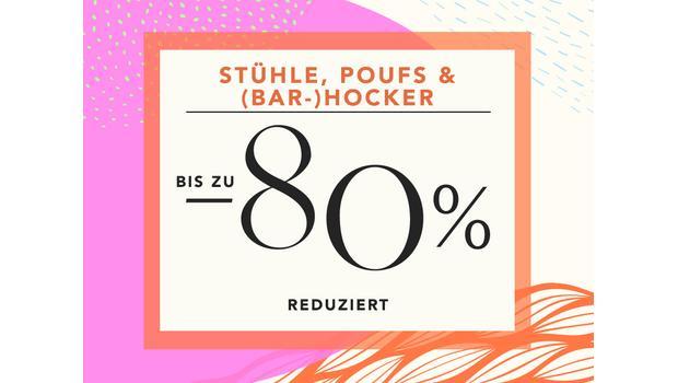 Stühle, Poufs & (Bar-)Hocker