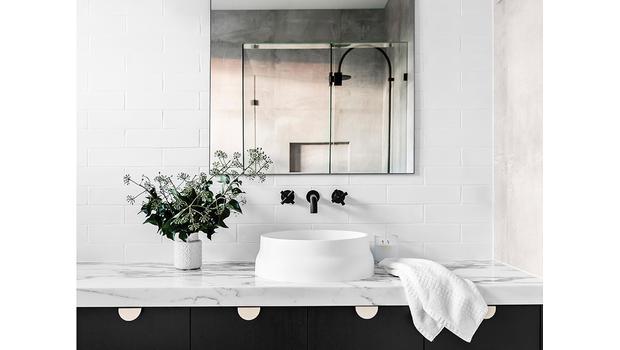 Moderner Badezimmer-Look