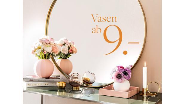 Die schönsten Vasen ab CHF 9