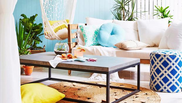 Interior mit Summer-Vibes