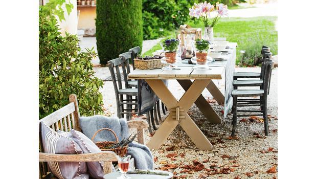 Dinner in der Provence