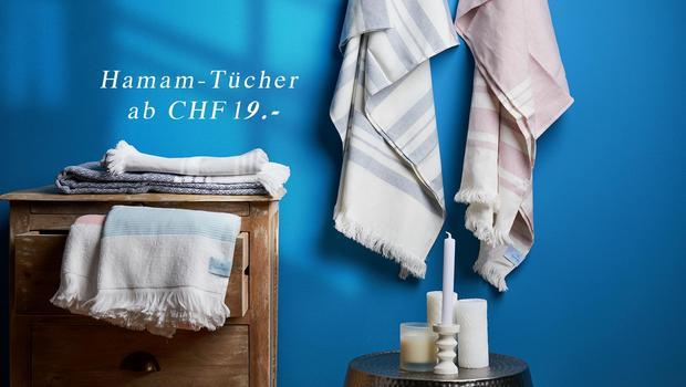 Hamam-Tücher ab CHF 19