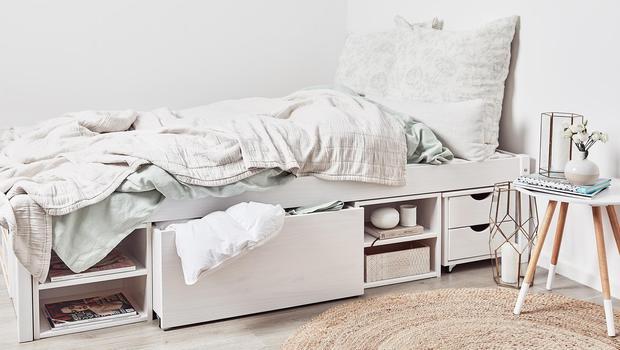Möbel mit Stauraum-Funktion