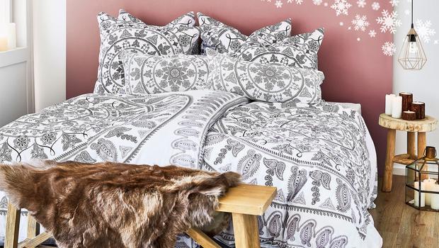 Mandala-Muster fürs Bett