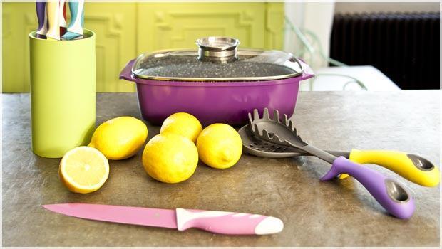 Mehr Farbe in der Küche