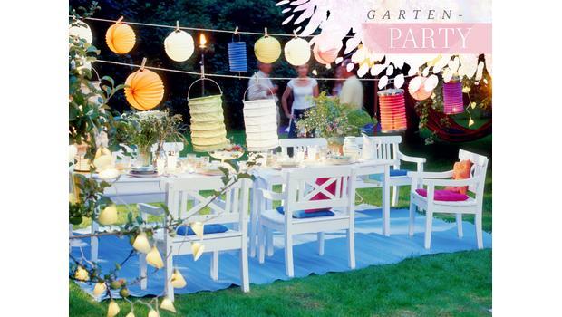 Alles für die Garten-Party