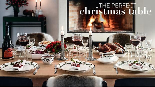 Die perfekte Weihnachtstafel
