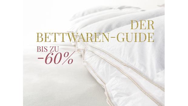 Der Bettwaren-Material-Guide