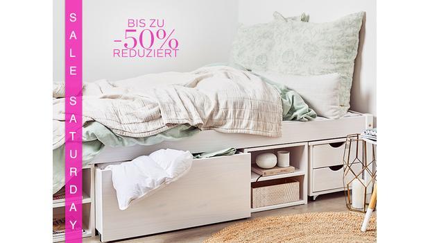 Betten mit Stauraum-Funktion