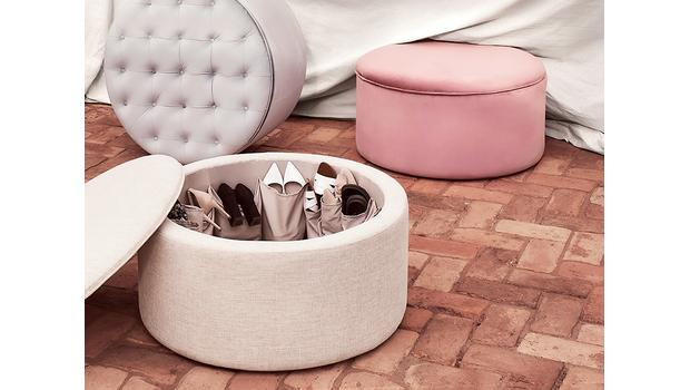 Must-have: Schuh-Pouf