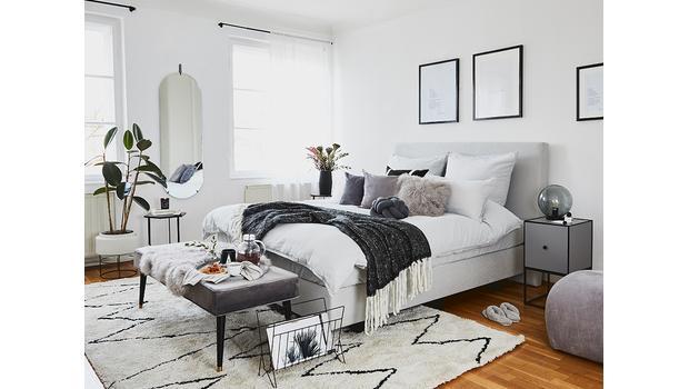 Schlafzimmer mit Soft-Touch