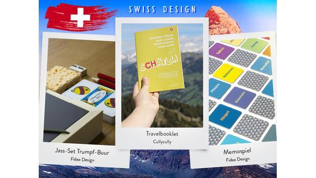 Designed in Switzerland