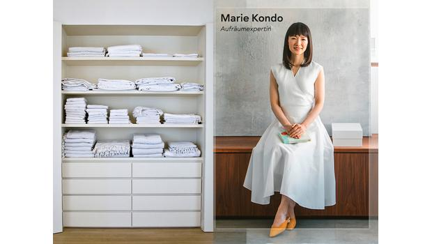 Beste Ordnung mit Marie Kondo