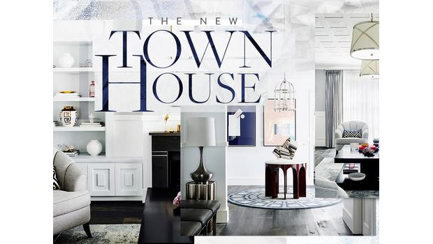 Glamouröser Townhouse-Chic