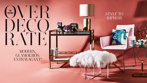 Interior-Trend: Overdecorate