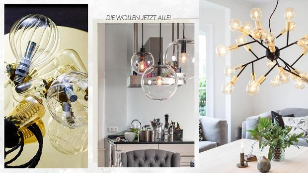 Must-have: Bulb-Leuchten
