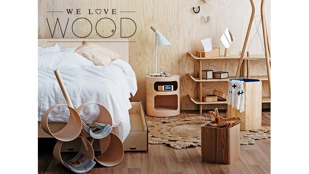 Cool, cooler, helles Holz