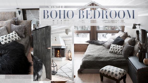 Gemütlicher Boho-Bedroom