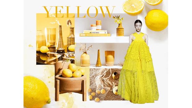 Interior in Gute-Laune-Gelb