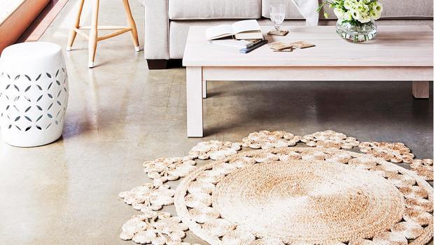 Natürlich schöne Teppiche