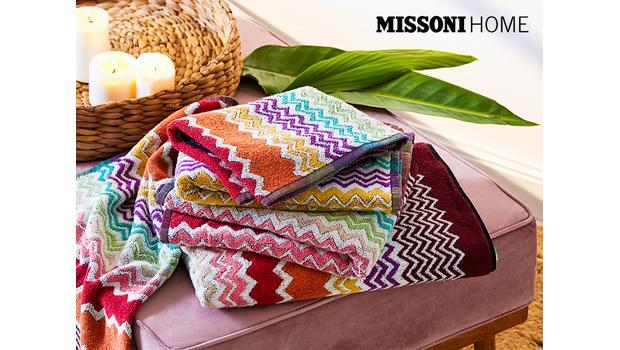 Missoni Home Bad-Textilien