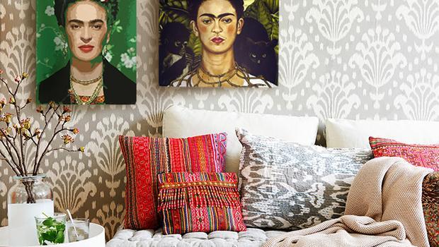 Barevná Frida Kahlo