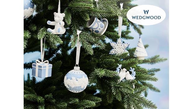 Wedgwood: vánoční dekorace