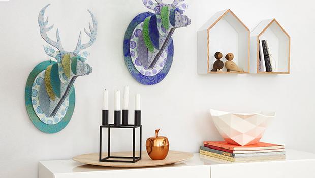 Skandinávské dekorace