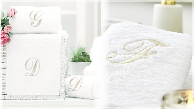 Elegantní koupelnové ručníky