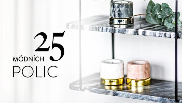 25 módních poliček