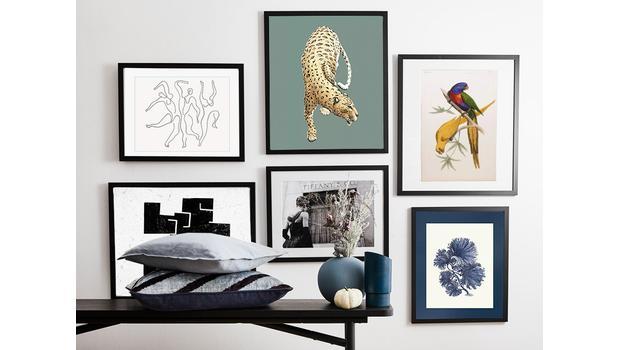 Nástěnná galerie v 5 stylech