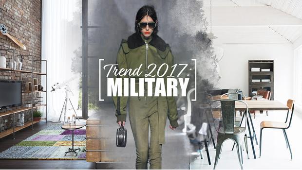 Přichází trend Military