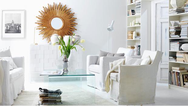Andrea House: Living room