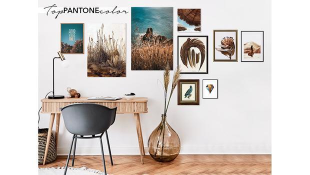 Top Pantone Color Wall Gallery