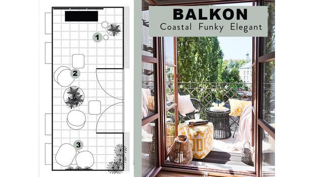 BALKON | 3 návrhy