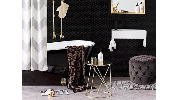 Glamour koupelnový salónek