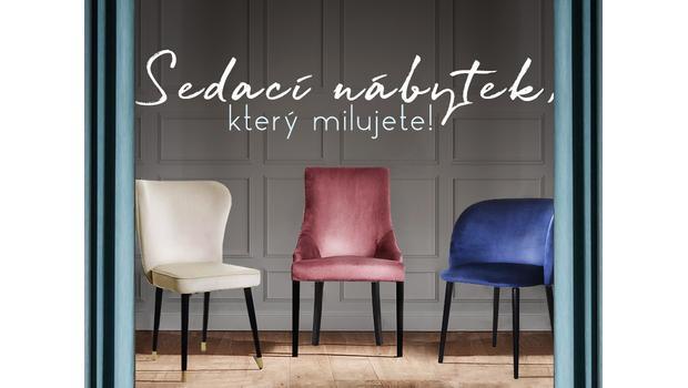 Sedací nábytek, který milujete