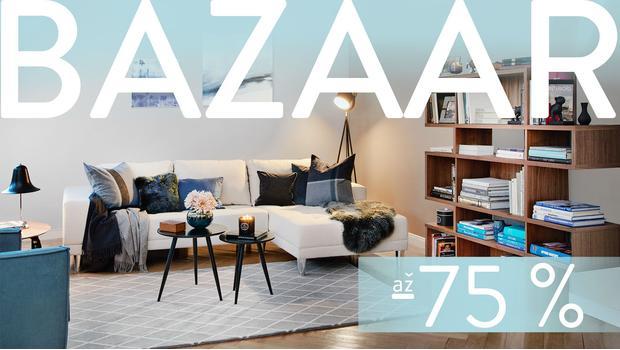 BAZAAR: rodinný obývací pokoj