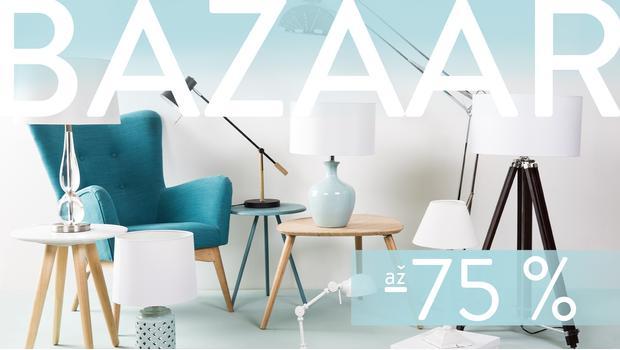 Bazaar: svítidla a lucerny