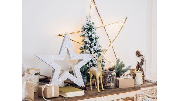 Půvabné vánoční dekorace