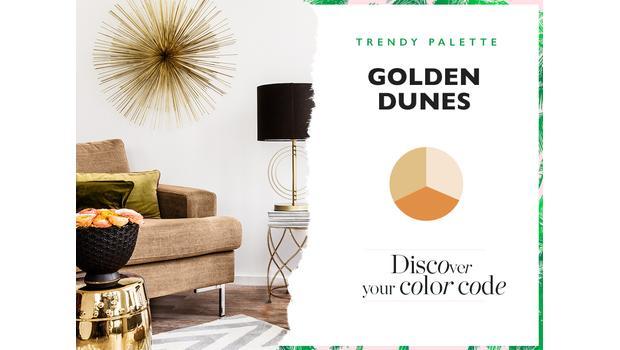 TREND: GOLDEN DUNES
