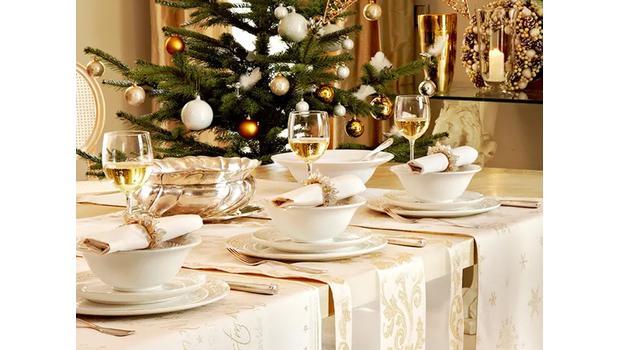 Dolaďte stůl na Vánoce