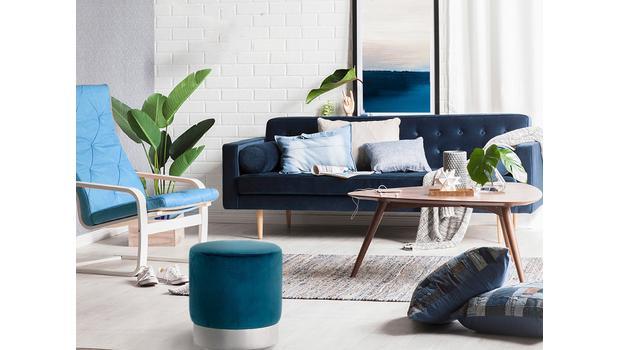 Modrý obývák 5krát jinak