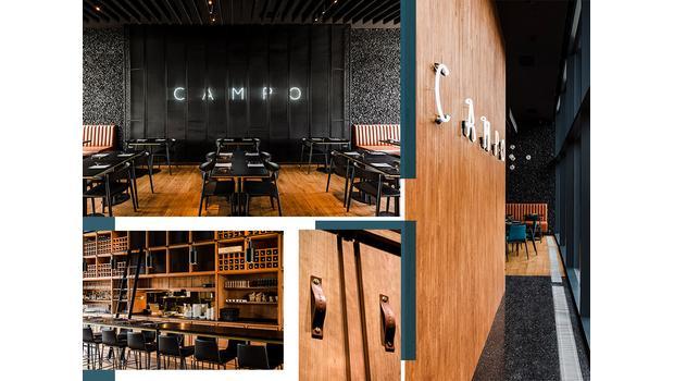 CAMPO: inspirující restaurace