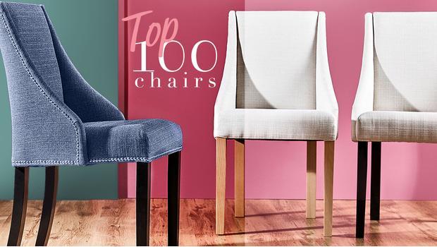 100 bestsellerových židlí