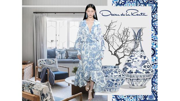 Chinoiserie očima návrháře