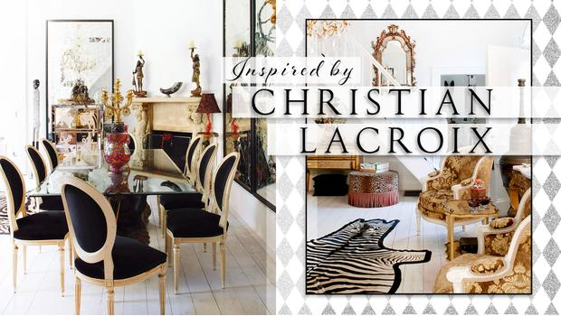 Inspired by Christian Lacroix