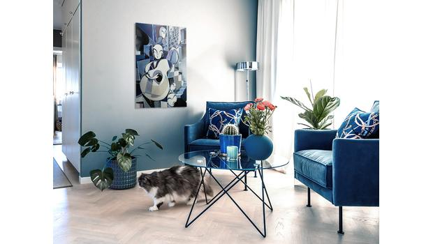 Classic Blue u vás doma