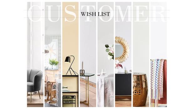 Customer Wish List